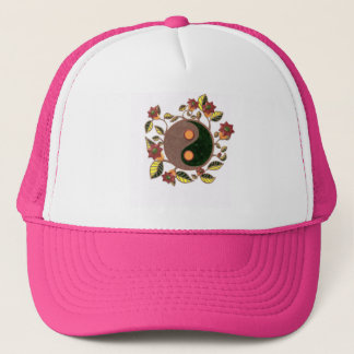 Whimsical Yin Yang Trucker Hat