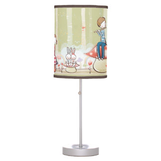 Whimsical Young Love Lamp