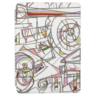 Whimsy-Abstract Art Geometric iPad Air Cover