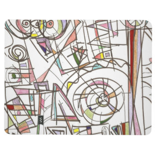 Whimsy-Abstract Art Geometric Journals