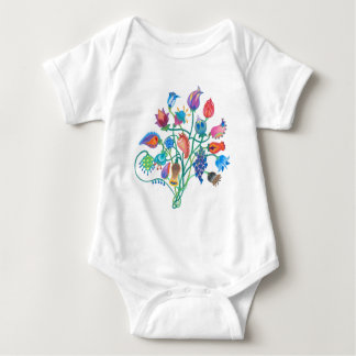 Whimsy Bouquet Baby Jumpsuit Baby Bodysuit