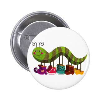 whimsy caterpillar pin