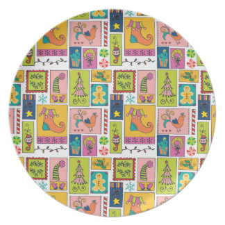Whimsy Christmas Plate