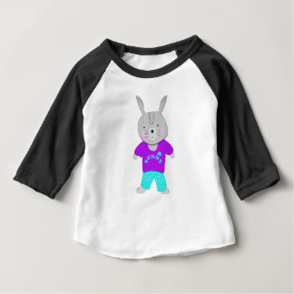 Whimsy Cute Kids Bunny Rabbit Baby T-Shirt