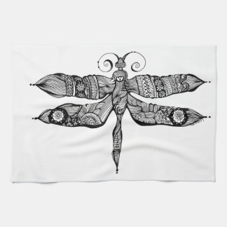 Whimsy Dragonfly Hand Towels