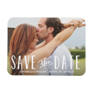 Whimsy Overlay | Save the Date Magnet