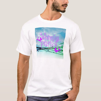 Whimsy Punch with Butterflies Apparel T-Shirt