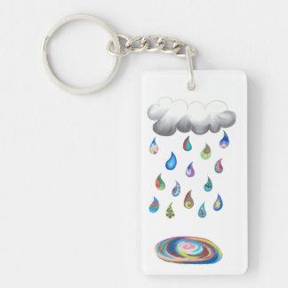 Whimsy Rain Key chain