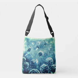 Whimsy Tote back with lovely Aqua colors