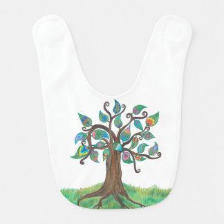Whimsy Tree Baby Bib