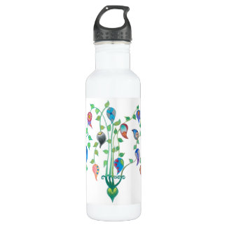 Whimsy Vines Water Bottle