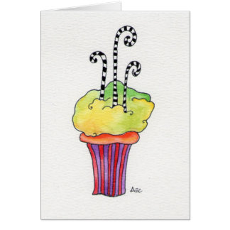 Whimsycake Cupcake Card