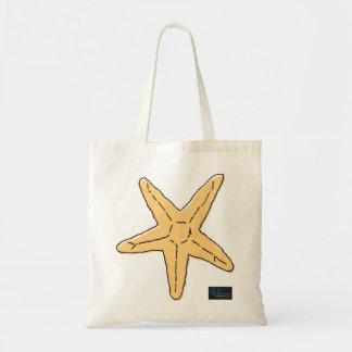WhimsyMonger Starfish Tote Budget Tote Bag