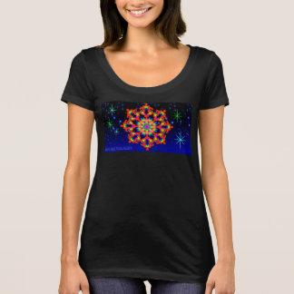 WhimsyQuest Kaleidoscope T-Shirt Orange Lover W's