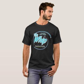 Whip Blue & White Logo 4 Dark Shirts