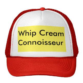 whip cream trucker hat