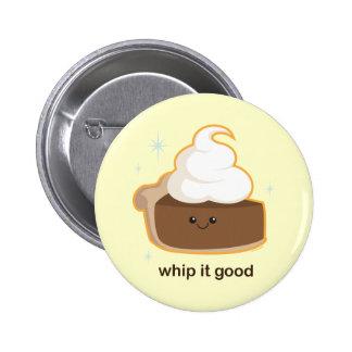 Whip It! 2 Inch Round Button