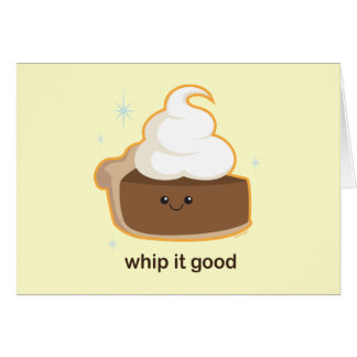 Whip It! Greeting Card