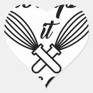Whip It Good Heart Sticker