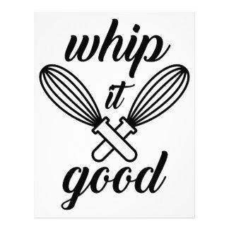 Whip It Good Letterhead
