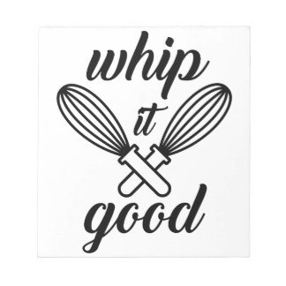 Whip It Good Notepad
