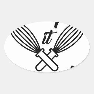 Whip It Good Oval Sticker