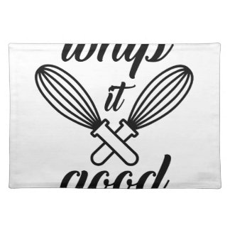 Whip It Good Placemat