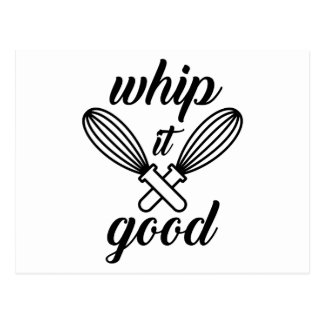 Whip It Good Postcard