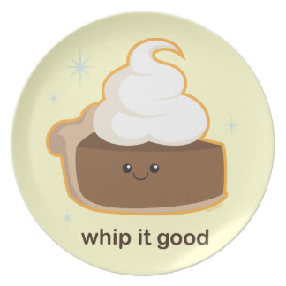 Whip It! Party Plate