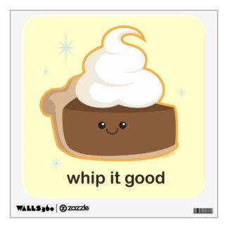 Whip It! Wall Sticker