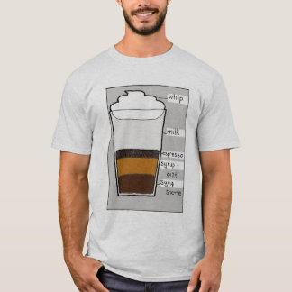 Whip Milk Espresso Syrup Guilt T-Shirt