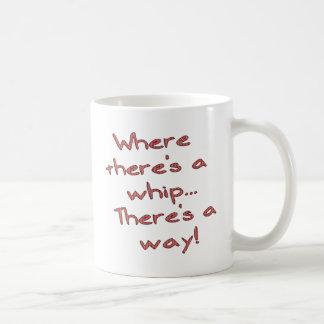 Whip Basic White Mug
