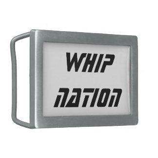 Whip Nation Belt Buckle