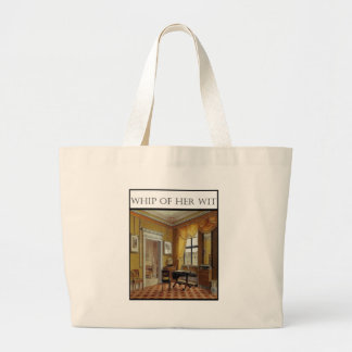 Whip Of Her Wit - Cover Canvas Bags