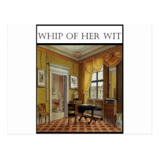 Whip Of Her Wit - Cover Postcard
