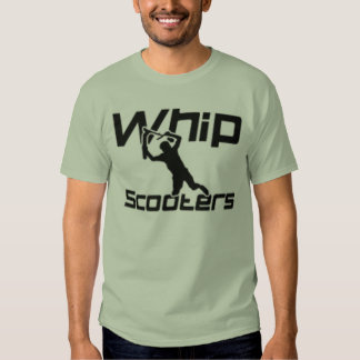 whip scooters t shirts