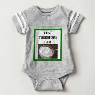 whipped cream baby bodysuit