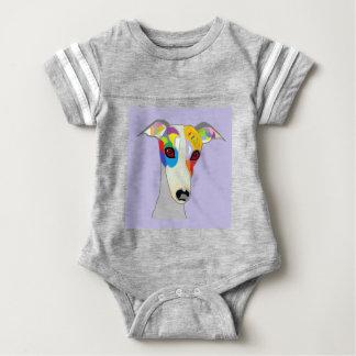 WHIPPET BABY BODYSUIT