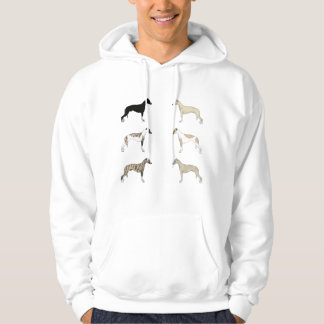 Whippet Colors Hoodie