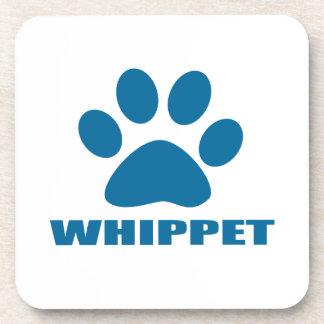 WHIPPET DOG DESIGNS COASTER