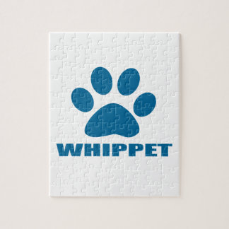 WHIPPET DOG DESIGNS JIGSAW PUZZLE