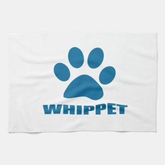 WHIPPET DOG DESIGNS KITCHEN TOWEL