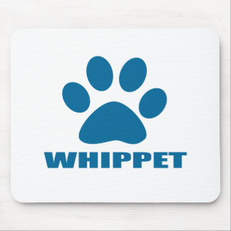 WHIPPET DOG DESIGNS MOUSE PAD