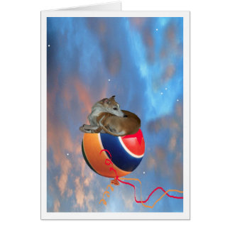 Whippet DreamLand - Greeting Card