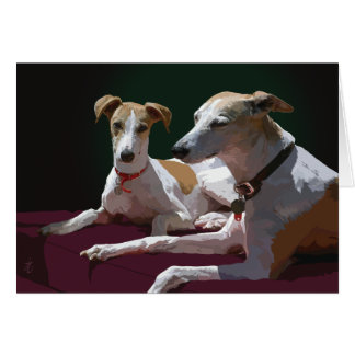whippet friends card