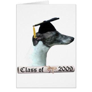 Whippet Grad 09 Card