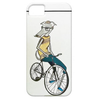 Whippet hipster (bike) iPhone 5 covers