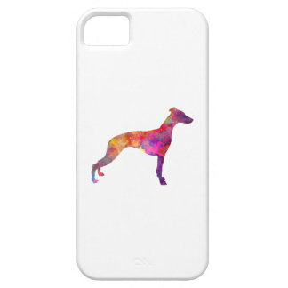 Whippet in watercolor case for the iPhone 5