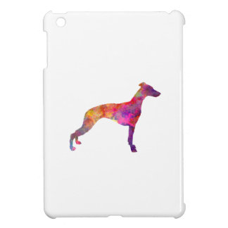 Whippet in watercolor iPad mini covers