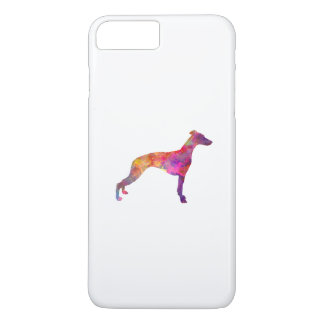 Whippet in watercolor iPhone 7 plus case